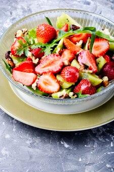 Healthy strawberry salad