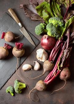 Healthy veggies for winter food