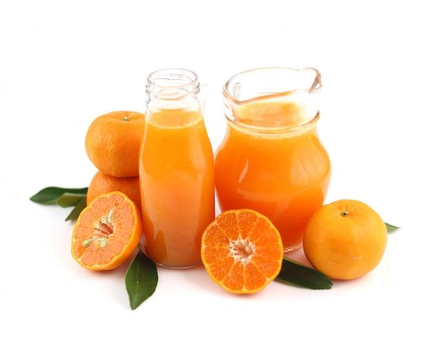 健康ドリンク-新鮮でおいしいオレンジジュース