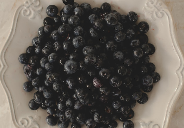 Heap of delicious berries