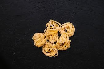 Heap of dry pasta