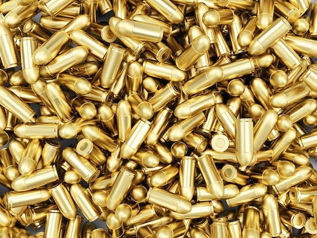 Куча оружейных пуль
