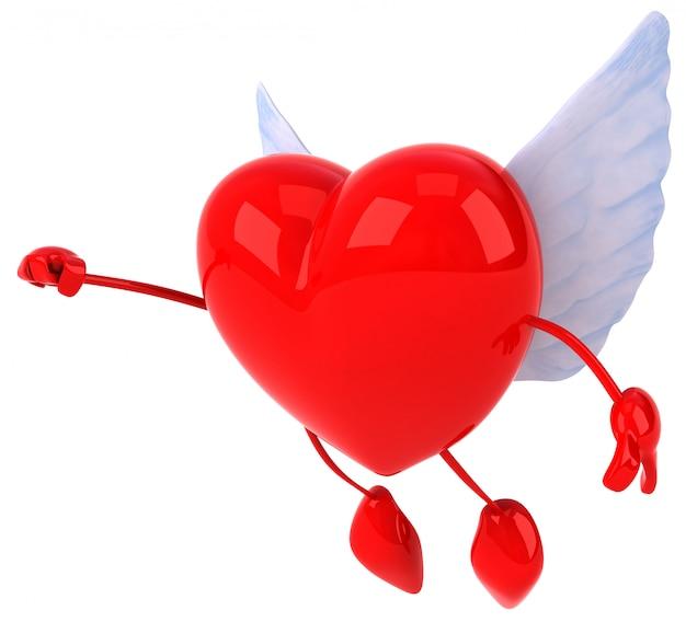 심장-3d 캐릭터