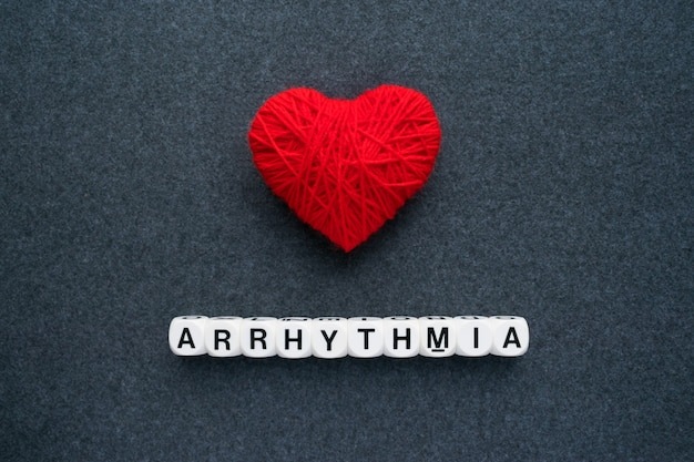 Heart arrhythmia, cardiac dysrhythmia or irregular heartbeat