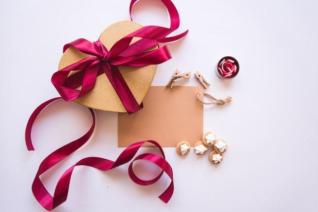 Scatola regalo cuore