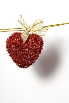 Сердце на веревке прикрепить прищепку