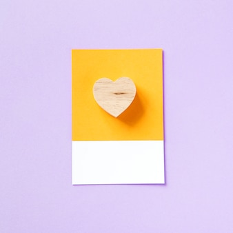 Heart shape symbol for love