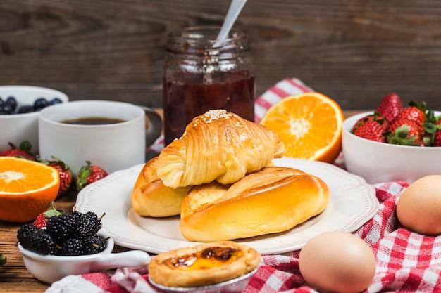 A hearty breakfast