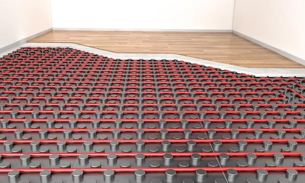 Heater floor system
