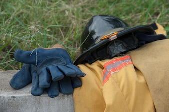 Heavy Duty Protective Fire Fighting Cloth
