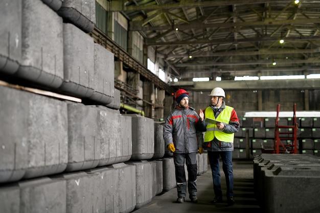 重工業労働者