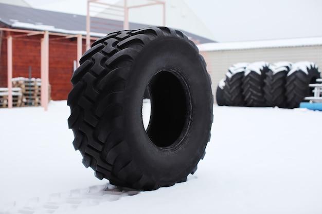 야외 훈련 용 무거운 타이어