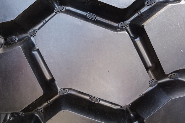 Heavy truck tire rubber background