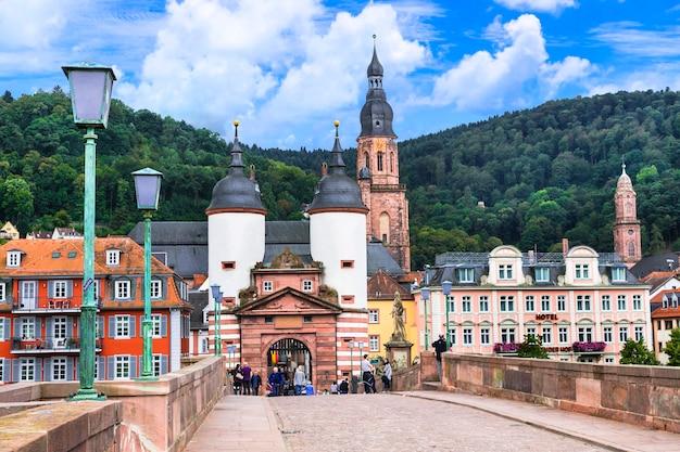 Гейдельберг - один из самых красивых средневековых городов германии.
