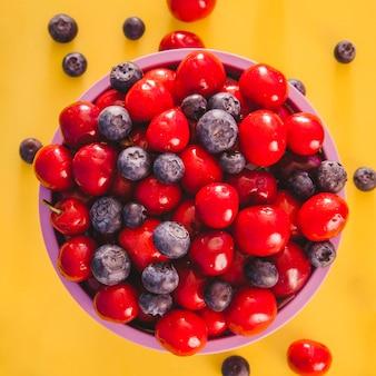 Helathy bowl of fruits