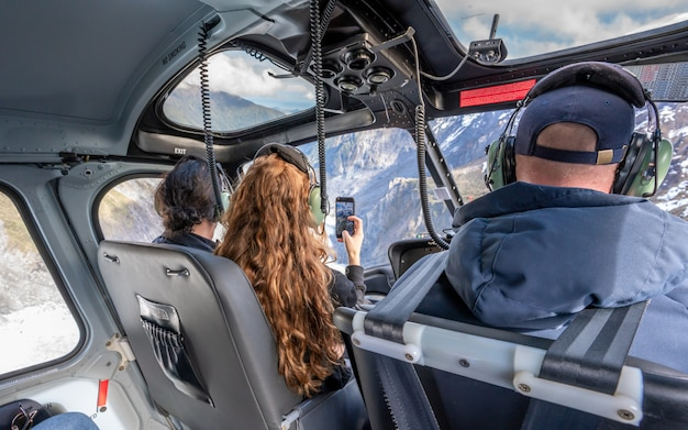 Helicopter holiday in new zealand