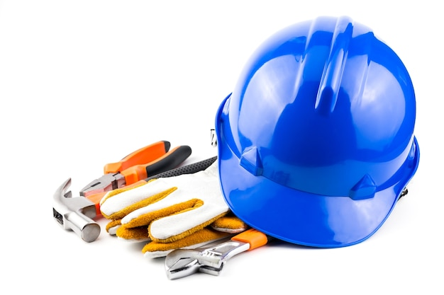 Helmet safety/ hand tools.