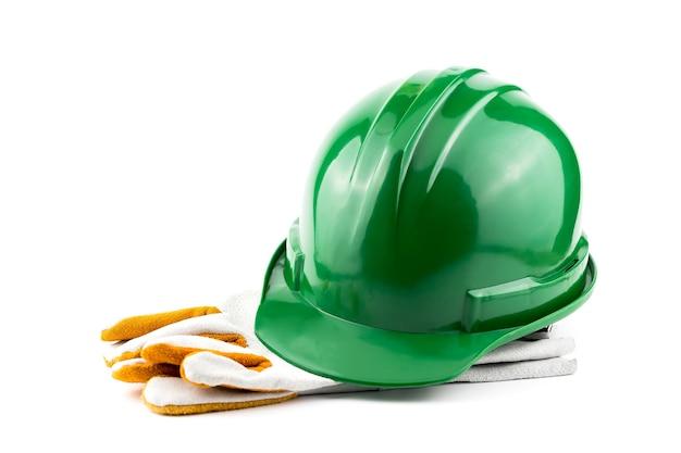 職場におけるヘルメットの安全性。