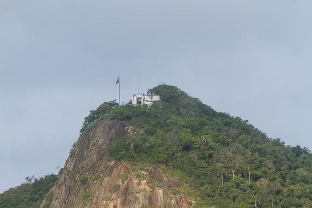 Helmstone in copacabana in rio de janeiro brazil.