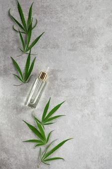 Hemp oil in skin care cosmetics