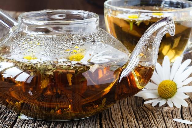 Травяной чай с ромашкой