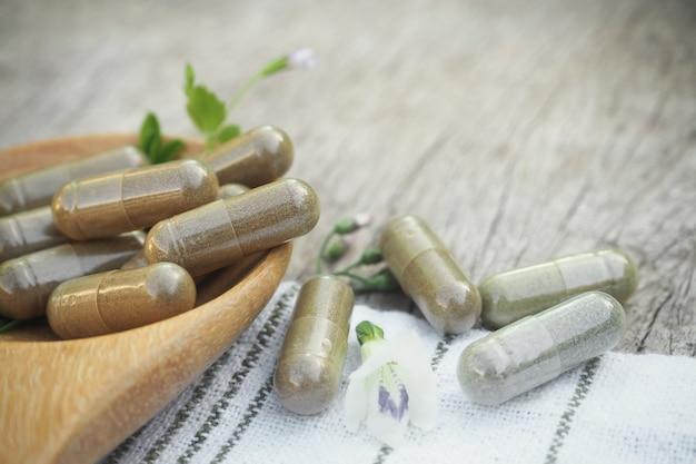 Herbal powder capsules