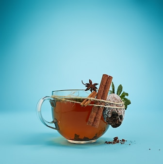 The herbal tea