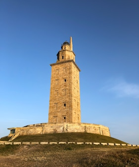 Hercules tower, world heritage site