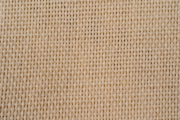 Hessian sackcloth burlap woven texture background. cotton woven fabric background with flecks