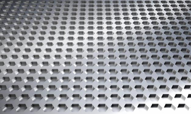 Hexagon metal plate