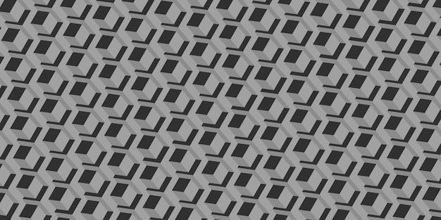 Шестиугольник пиксельные блоки технологии абстрактный фон современная сцена концепция 3d иллюстрации