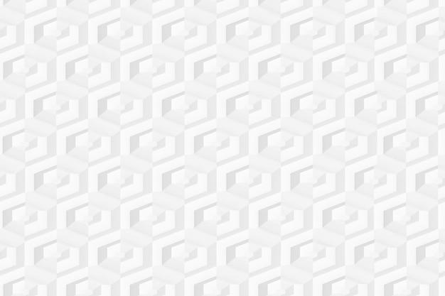 棚のあるさまざまな深さのセルを持つ六角形の3次元グリッド