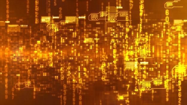 Hi-tech digital abstract background