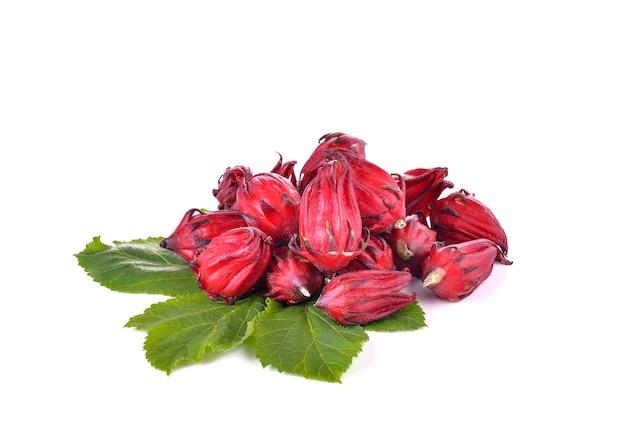 ハイビスカスフヨウまたはローゼル果物