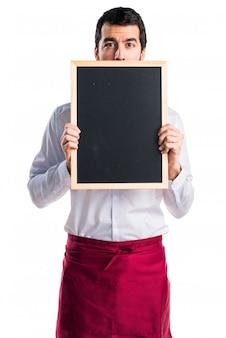 Hide placard elegance board background