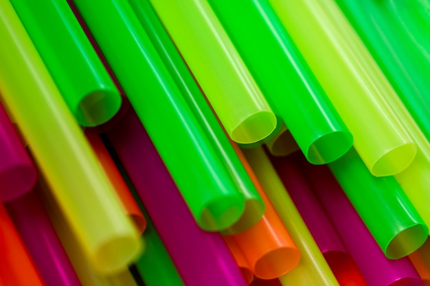 High angle ecological drinking straws