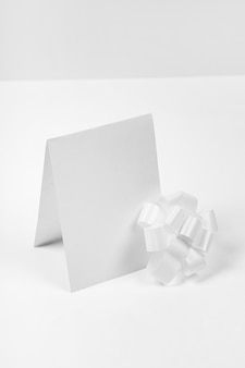 弓付きハイアングル空カード