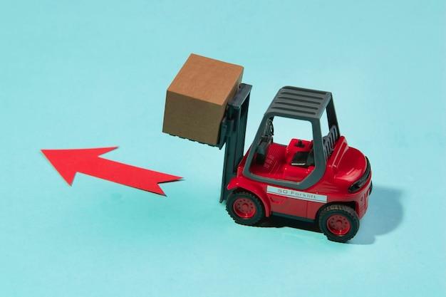 고각 지게차 운반 상자