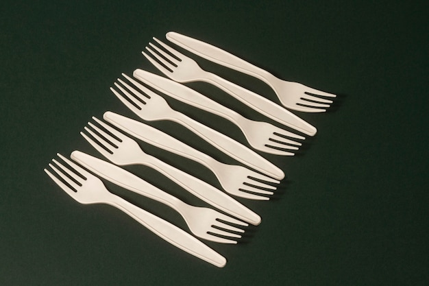 High angle forks arrangement