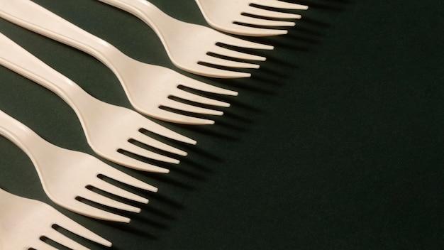 High angle forks assortment