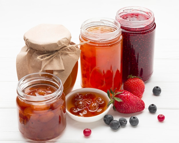 High angle jars with jam