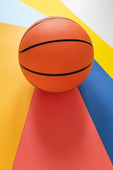Высокий угол нового баскетбола