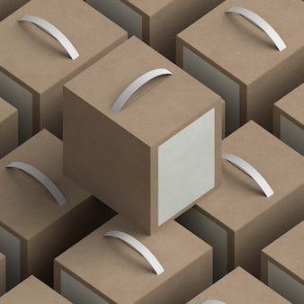 Ассортимент коробок с большим углом наклона