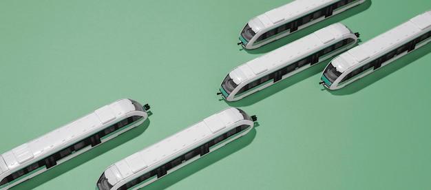 Composizione del trasporto pubblico ad alto angolo