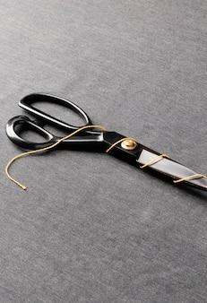 Filo ad alto angolo e disposizione delle forbici