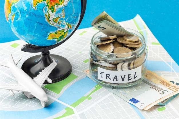 Концепция путешествия под большим углом