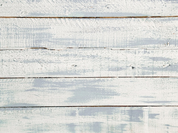 High angle view of white wooden plank texture
