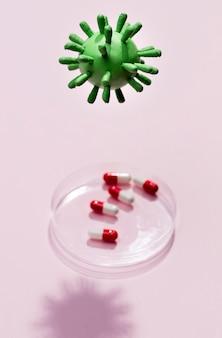 ハイアングルウイルスバクテリア