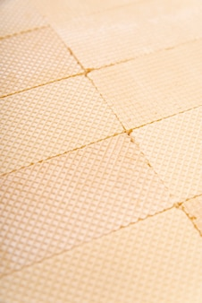 High angle of wafer surface