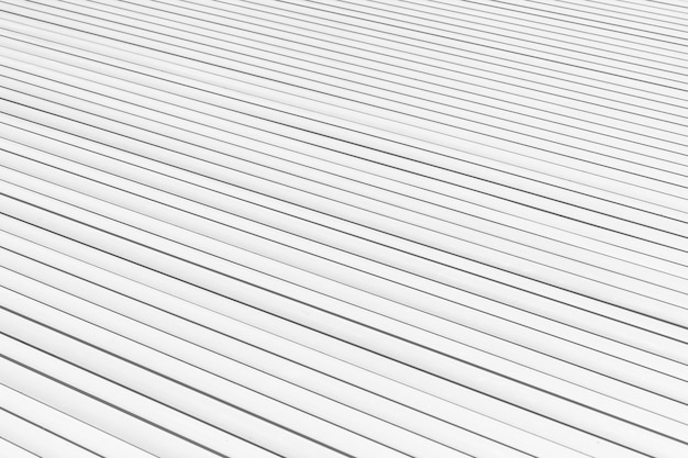 High angle white planks background
